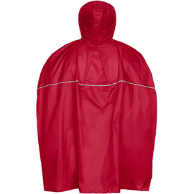 VAUDE Grody Poncho Barn indian red